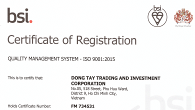 ISO 9001:2015 - QUALITY MANAGEMENT SYSTEM