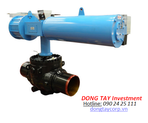 Heavy Duty Quarter Turn Type Pneumatic Actuator
